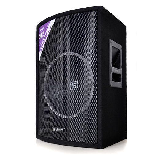 skytec haut parleur sono passive dj pa caisson de basse 12 pas cher achat vente. Black Bedroom Furniture Sets. Home Design Ideas