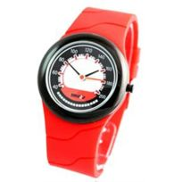 Time2u - Montre Silicone Rouge Citizen 736