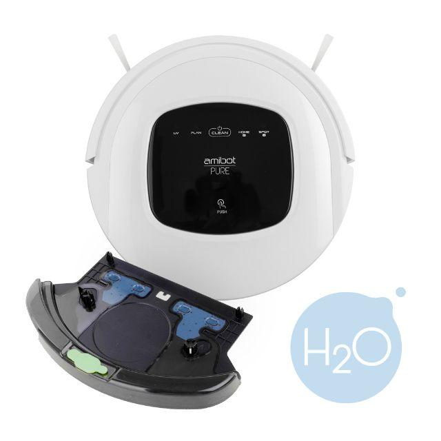 AMIBOT - Robot aspirateur et laveur - Pure H2O