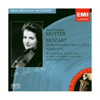 Emi Music France - Mozart - Concertos pour violon n 1, 2, 4 Coll. Great Artists Of The Century