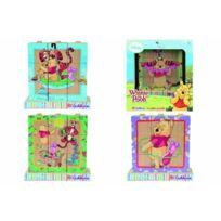 Eichhorn - Les Cubes D'IMAGES En Bois Jouet En Bois, Multicolore