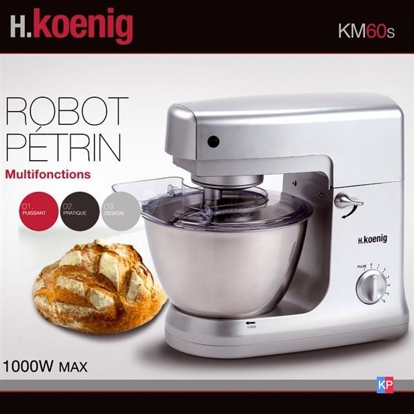 ROBOT PETRIN MENAGER MULTIFONCTIONS KOENIG 1000W