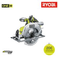 Ryobi - Scie circulaire brushless 18V OnePlus 60mm - sans batterie ni chargeur R18CS7-0