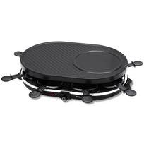 Inventum - Appareil à raclette grill Noir 1200 W Gr802