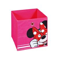 "Altobuy - Disney - Bac de Rangement Rose ""Minnie"