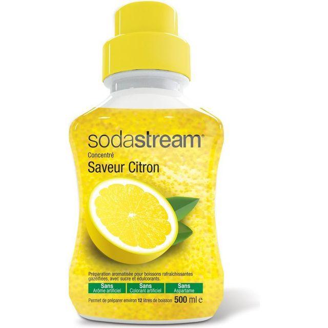 SODASTREAM Concentré saveur Citron Original