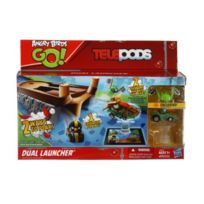 Angry Birds - Go! Telepods Dual Launcher - Double-lanceur