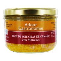 Adour Gastronomie - Bloc de Foie Gras de Canard 30% Morceaux