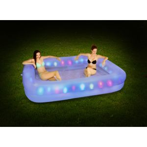 carrefour piscine familiale lumineuse l 195 x l 147 x. Black Bedroom Furniture Sets. Home Design Ideas