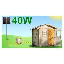 Aic - Pack prêt-à-poser énergie verte Mundus Solaire 38