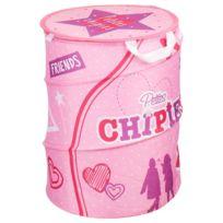 Atmosphera Kids - Panier de rangement Pop up - Girls