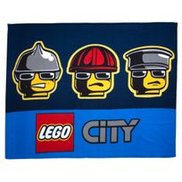 Character World - Plaid polaire Lego City