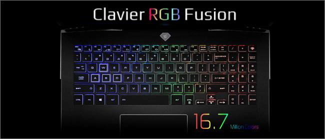 Aorus 15 - Clavier RGB