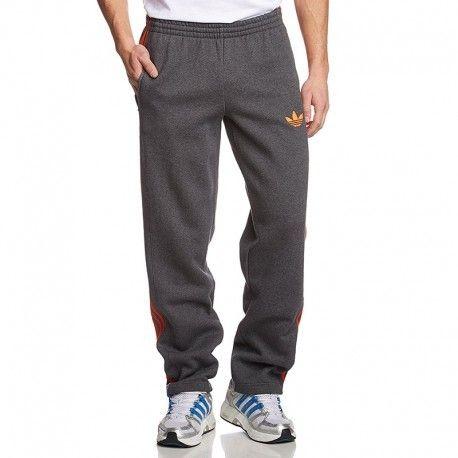 Pas Adidas Linear Pantalon Originals Original Homme Gris 0P8XOnwk