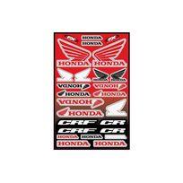 Fx Factory - Planche stickers - Honda - Déco Dirt Bike
