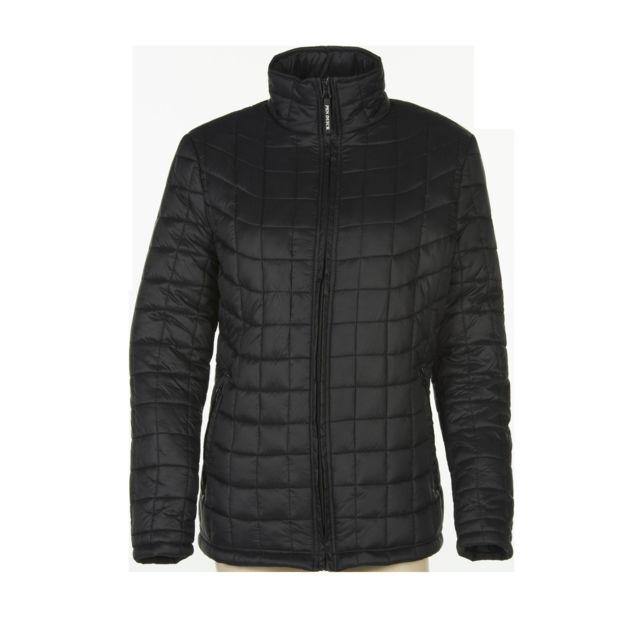 Veste Fashion Taille Matelassée Cuir Polyester Couleur Noir Z6A16xq