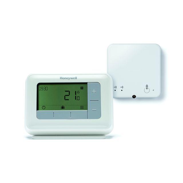 honeywell thermostat d 39 ambiance digitale t4r sans fil. Black Bedroom Furniture Sets. Home Design Ideas