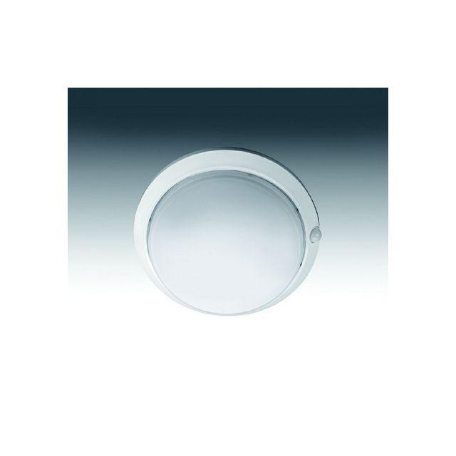 Aric Plafonnier hublot extérieur blanc détecteur de prés