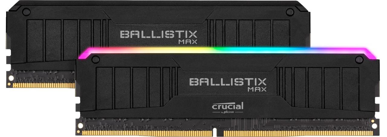 Mémoire gamer Ballistix Max RGB Crucial
