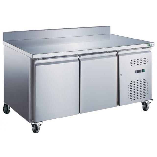 Materiel Chr Pro Table Réfrigérée Positive avec Dosseret Gn 1/1 Série Star - 282 L à 553 L - Afi Collin Lucy - 1360 mm 700