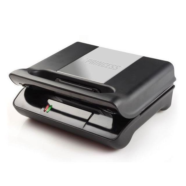 Totalcadeau Machine à croque-monsieur et panini Grill - Revêtement antiadhésif