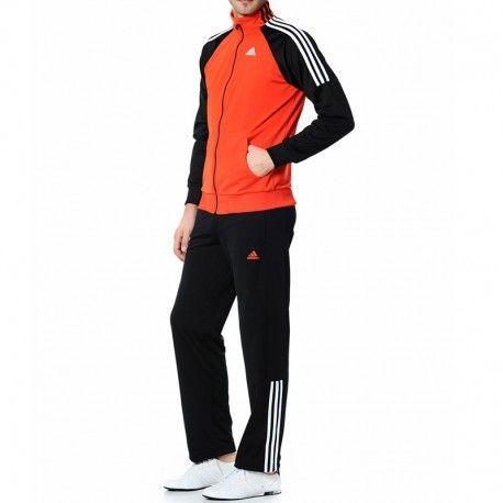 1108b259a Adidas originals - Survêtement Ts Riberio Rouge Entrainement Homme ...