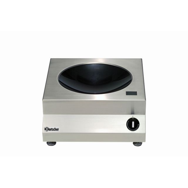 Bartscher Wok a, induction avec 3kW /230 V 50/60 Hz