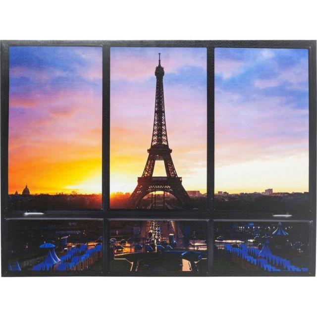 Karedesign Tableau Window Tour Eiffel 95x113cm Kare Design 95cm X