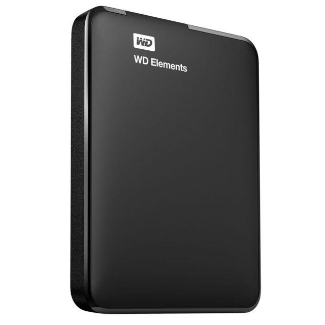 WD - Elements 2 To 2.5 USB 3.0 Noir