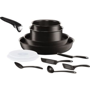 TEFAL - SET Ingenio Performance Noir 12p induction