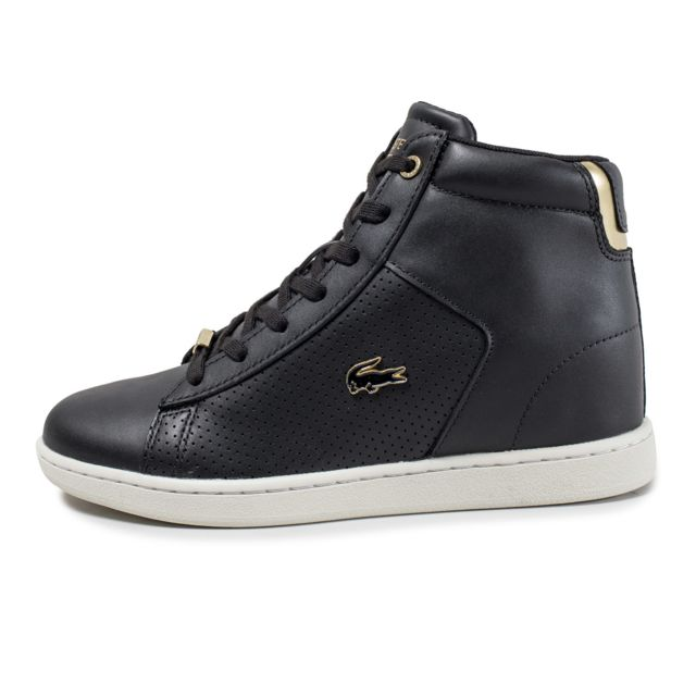 W Vente Carnaby Mid Baskets Wedge Cher Noire Achat Lacoste Pas rdxhotsQCB
