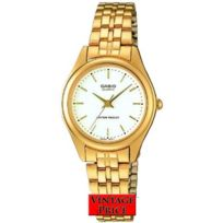 Casio - Ltp1129N 7a Montre Femme Bracelet Acier Plein Aiguilles Garantie 2 Ans