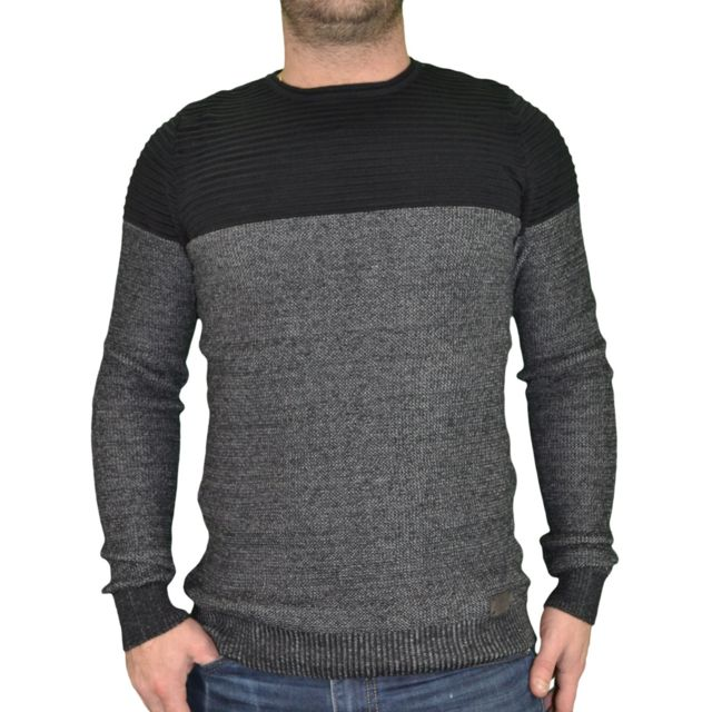 0afaa175dc hite-couture-pull-col-rond-homme-3085-noir-gris.jpg