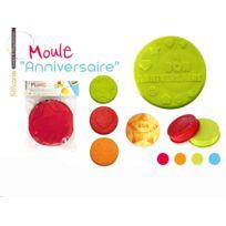 """Lily cook - Moule silicone pour gâteau """"Bon Anniversaire"""" - Kp5008 - Saveur & dégustation"""