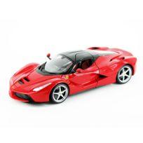 Burago - Modèle réduit de voiture de sport : LaFerrari - Ferrari : Echelle 1/18