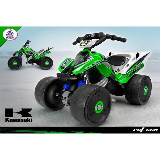 INJUSA Quad électrique 12V - Kawasaki
