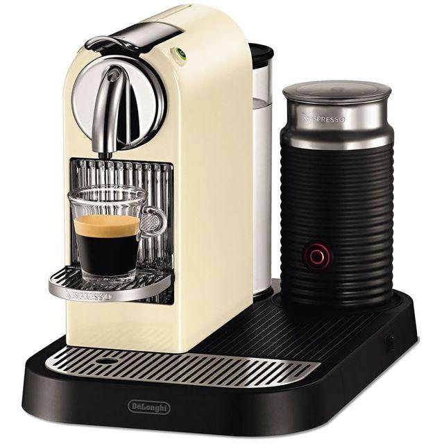 destockage de 39 longhi machine caf nespresso citiz milk. Black Bedroom Furniture Sets. Home Design Ideas