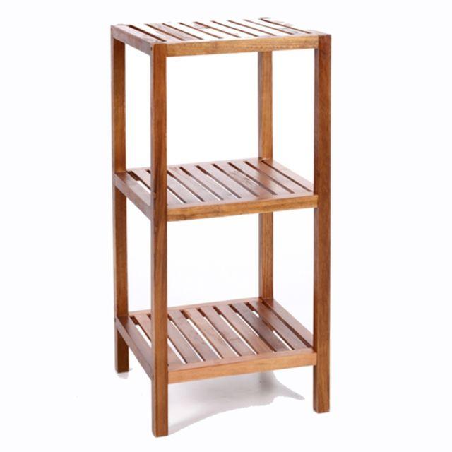 Instant D'O Etagère de salle de bain 3 niveaux - Bambou