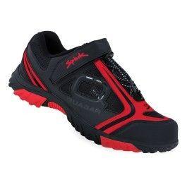 3740a48fd1a Spiuk - Chaussures Quasar Vtt noir rouge - pas cher Achat   Vente  Chaussures cyclisme - RueDuCommerce