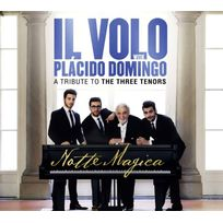 Masterworks - Placido Domingo | Il Volo - Notte Magica - a Tribute to the Three Tenors Boitier cristal