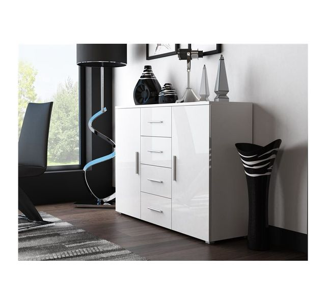 CHLOE DESIGN Commode design MOKA - blanc