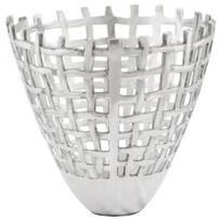 Techneb - Corbeille multifonctions Ovalo en aluminium aluminium