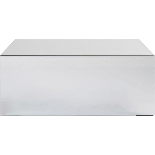 Karedesign Table basse Luxury 90x50cm argent Kare Design
