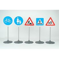 Theo Klein - Sécurité Routière : Set de 5 panneaux routiers