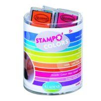 Aladine - Encreurs pour tampons Stampo Kids Colors : Energy