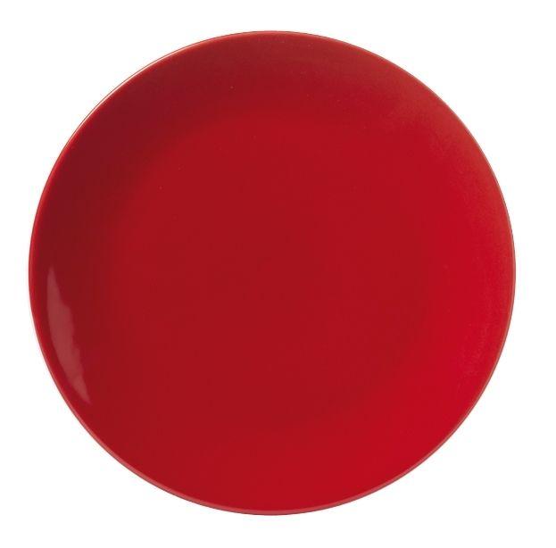 Lebrun Assiette plate rubis 26 cm Vita