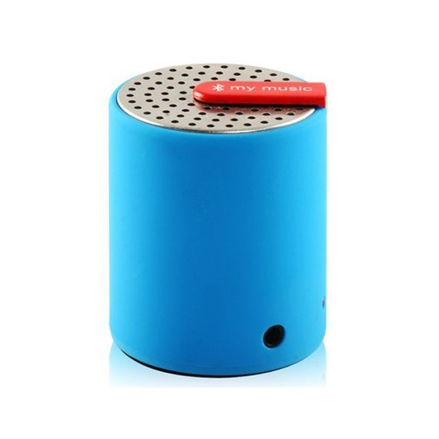 Yonis - Mini enceinte bluetooth universelle smartphone tablette Bleu