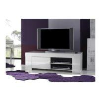 Meuble Tv Design Blanc Laque Achat Meuble Tv Design Blanc Laque
