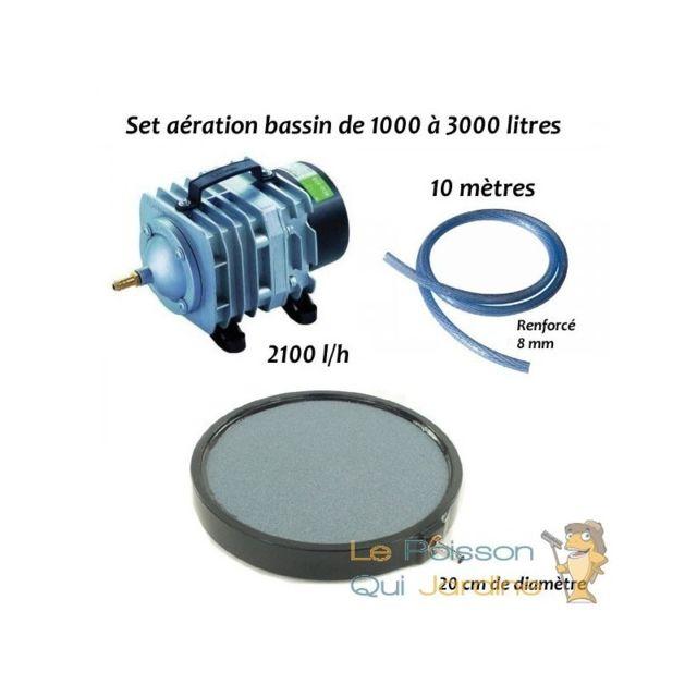 Aqua Occaz - Set aération N5 bassin de jardin de 1000 à 3000 litres ... c527a24da08b