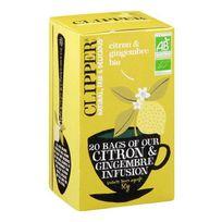 Clipper - Infusion Citron Gingembre Bio 50g